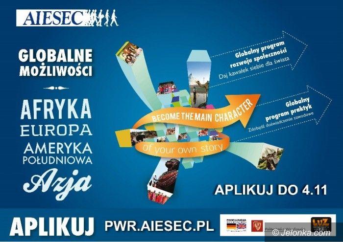 Region: Do studentów: Zasmakuj egzotyki z AIESEC