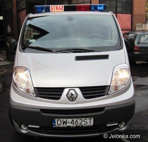 Jelenia Góra: Strażacy mają broń do walki z zagrożeniami chemicznymi