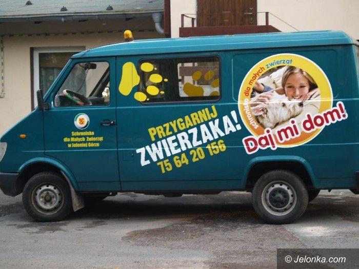 Jelenia Góra: Schronisko dla zwierząt dostało samochód