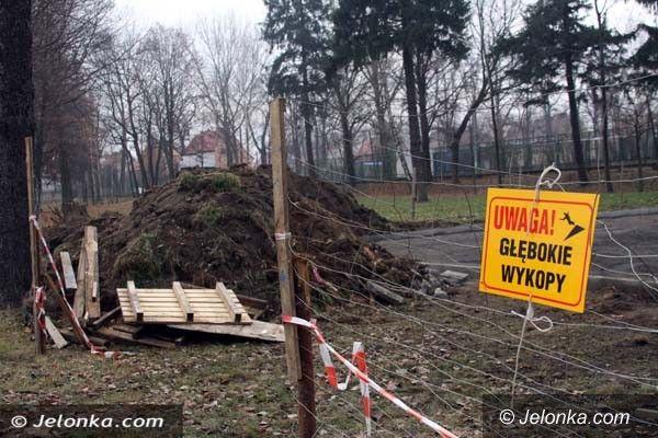 Jelenia Góra: Płyta skate parku przy ul. Lubańskiej z poślizgiem