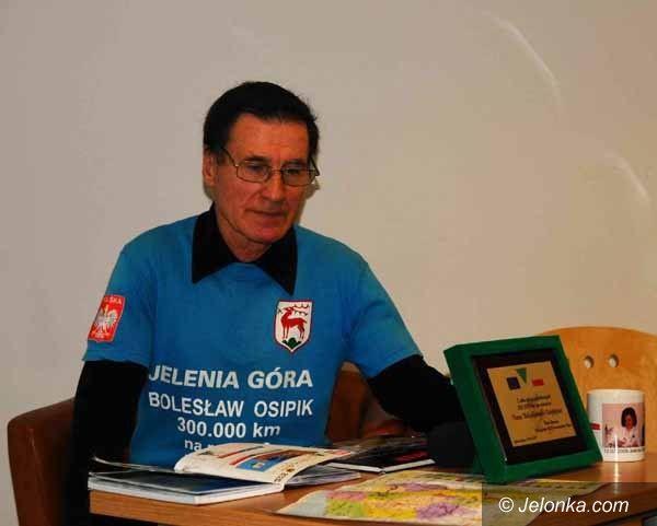Jelenia Góra: Jelenie Góry oczami cyklisty Bolesława Osipika