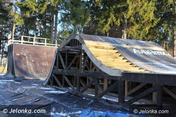 Jelenia Góra: Bike–skate park w Cieplicach na ukończeniu