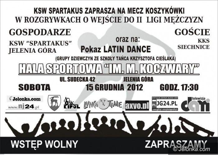 III-liga koszykarzy: Spartakus podejmie KKS Siechnice