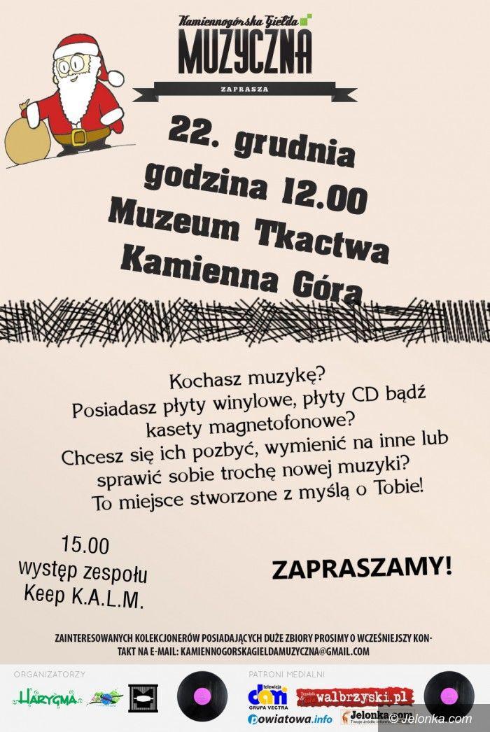 Region: Kamiennogórska Giełda Muzyczna już 22 grudnia!