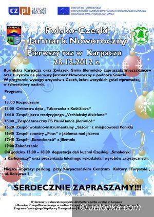 Region: Polsko–Czeski Jarmark Noworoczny u podnóża Śnieżki