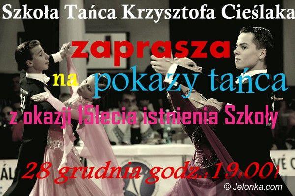 Jelenia Góra: 15–lecie Szkoły Tańca Krzysztofa Cieślaka. Darmowe pokazy już jutro