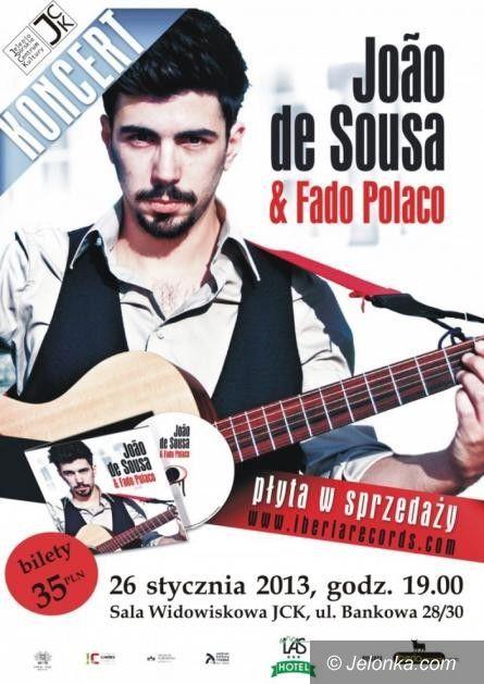 Jelenia Góra: Joao de Sousa & Fado Polaco w Jeleniej Górze