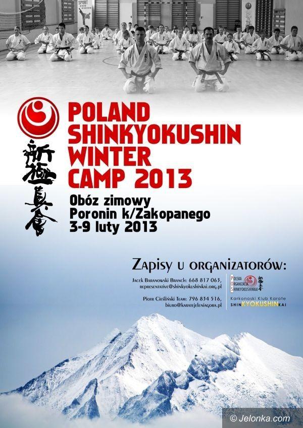 Jelenia Góra/Poronin: Obóz zimowy Karate Shinkyokushin