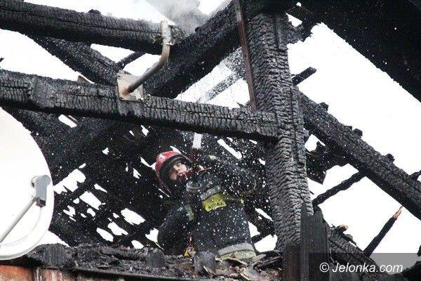 Region: W ogniu stanął dziś dwurodzinny dom tyrolski w Mysłakowicach
