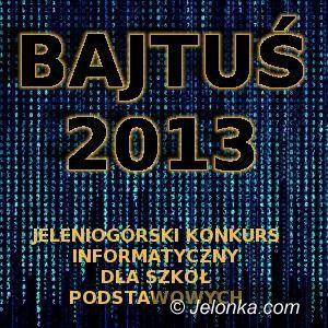 Jelenia Góra: Lubisz komputer i sieć? Bajtuś 2013 jest dla Ciebie!