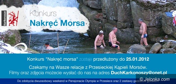 """Region: """"Nakręć morsa"""" w Karkonoszach"""