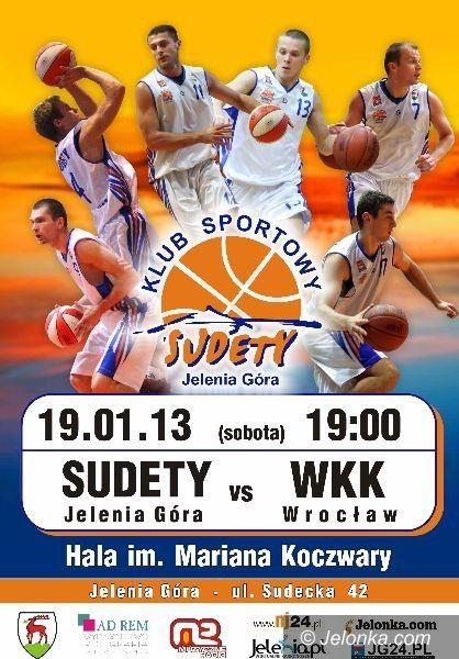 II-liga koszykarzy: KS Sudety – WKK Wrocław – zapowiedź meczu 14. kolejki