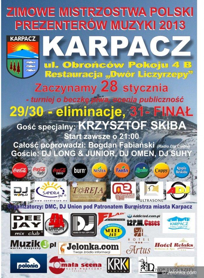 Region: Mistrzostwa prezenterów muzyki już w poniedziałek, w Karpaczu