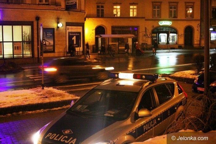 Jelenia Góra: Potrącenie pieszej na pasach na ul. Bankowej