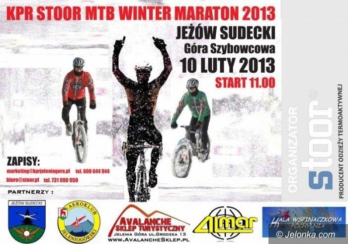 Jeżów Sudecki: Wygraj koszulkę z KPR–Stoor MTB Winter Maratonu!