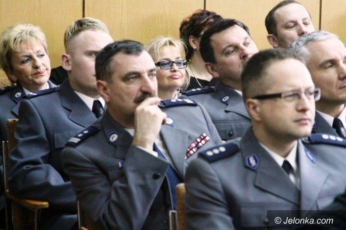 Jelenia Góra/region: Jaki był miniony rok w jeleniogórskiej policji? O tym dzisiejsza odprawa