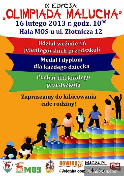 Jelenia Góra: Olimpiada Malucha już w najbliższą sobotę!