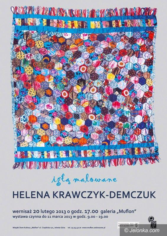 Jelenia Góra/Sobieszów: Igłą malowane – wystawa haftu artystycznego już dzisiaj