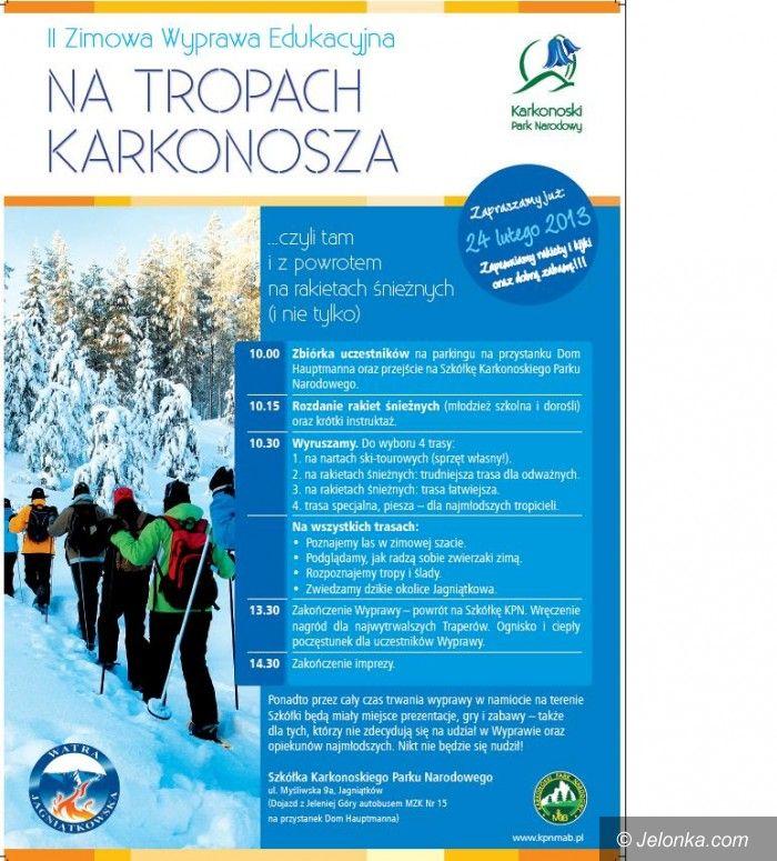 Jelenia Góra: Na śnieżnych rakietach tropem Karkonosza już w niedzielę!