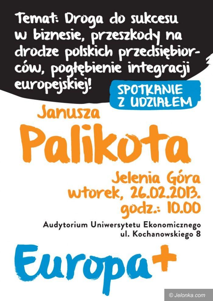 Jelenia Góra: Janusz Palikot w Jeleniej Górze z wykładem