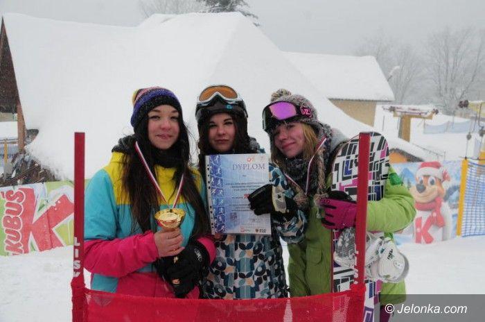 Zieleniec: Sukces snowboardzistek
