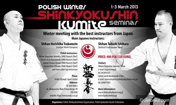 Wałcz: Cieśliński na seminarium z trenerem kadry Japonii