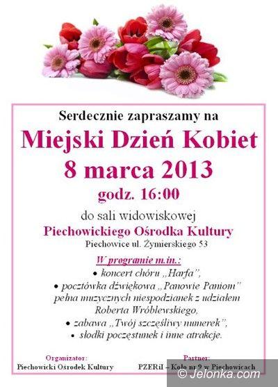 Region: Miejski Dzień Kobiet w Piechowicach