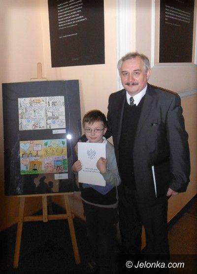 Region: Komiks 6–latka z Janowic Wielkich zdobył wyróżnienie w wojewódzkim konkursie!