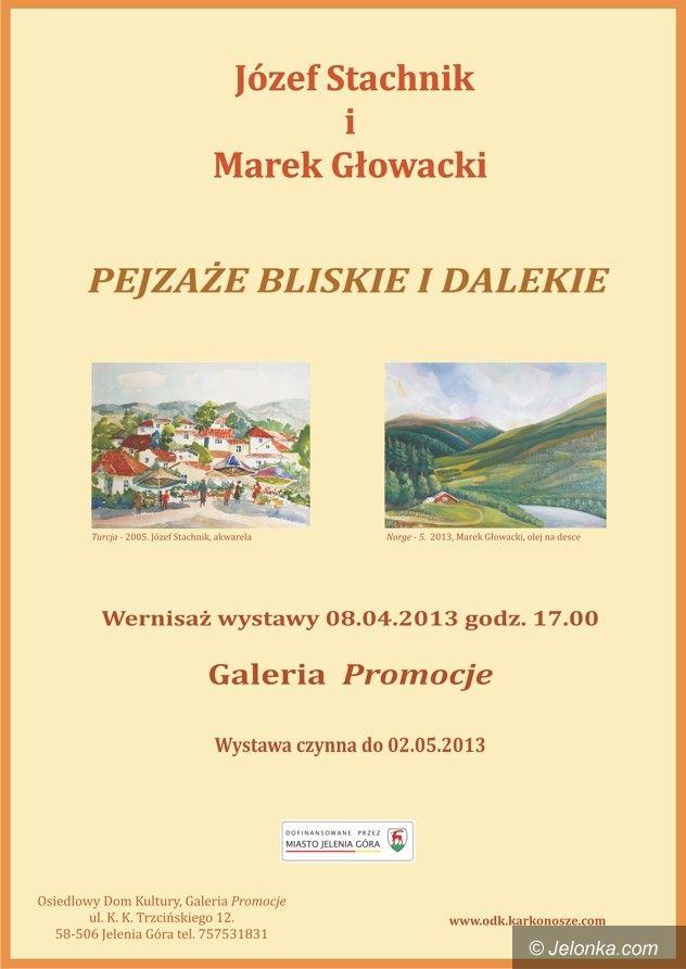 Jelenia Góra: Pejzaże bliskie i dalekie w galerii ODK