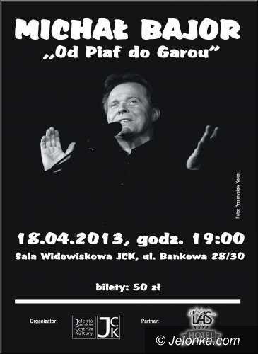 Jelenia Góra: Koncert Michała Bajora w Jeleniogórskim Centrum Kultury