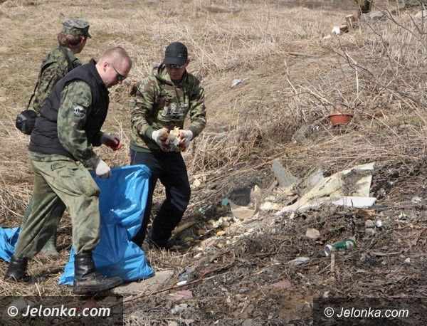 Region: Oczyścili rzekę Bóbr ze śmieci w Janowicach Wielkich