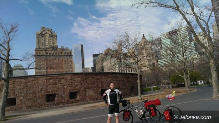 USA/Jelenia Góra: Jeleniogórzanin ruszył rowerem na podbój obu Ameryk. Dziś pierwsza relacja!