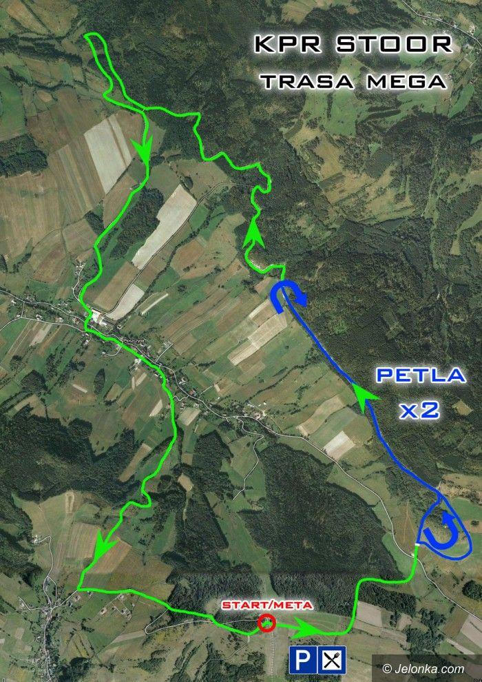 Góra Szybowcowa - Jeżów Sudecki: Zobacz trasę II edycji KPR Stoor Bike Extreme