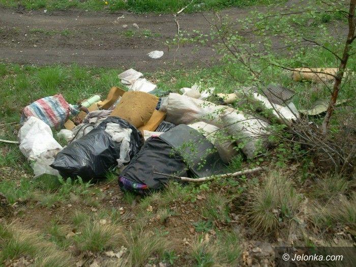 Jelenia Góra: Czytelnik: Wzgórza Łomnickie zamieniają się w cross i wielkie śmietnisko