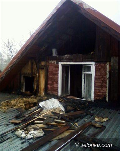 Mysłakowice: Pożar w Mysłakowicach, siedem osób ewakuowanych