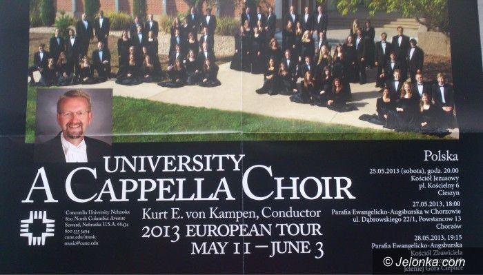 Jelenia Góra: Zaśpiewa chór akademicki z Ameryki
