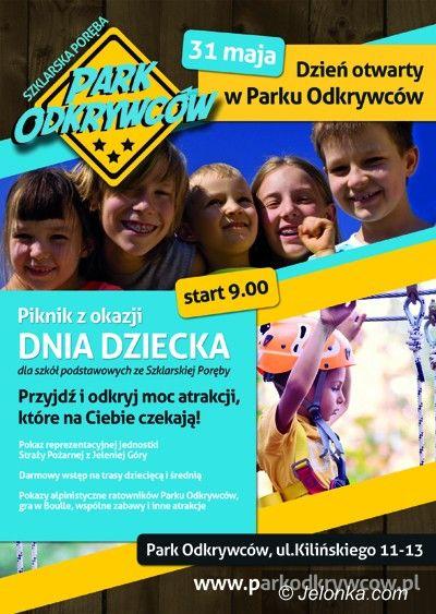 Region: Piknik dla dzieci w Parku Odkrywców