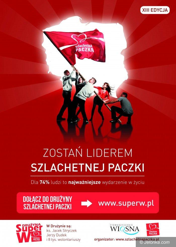 Region: Zostań liderem Szlachetnej Paczki 2013!