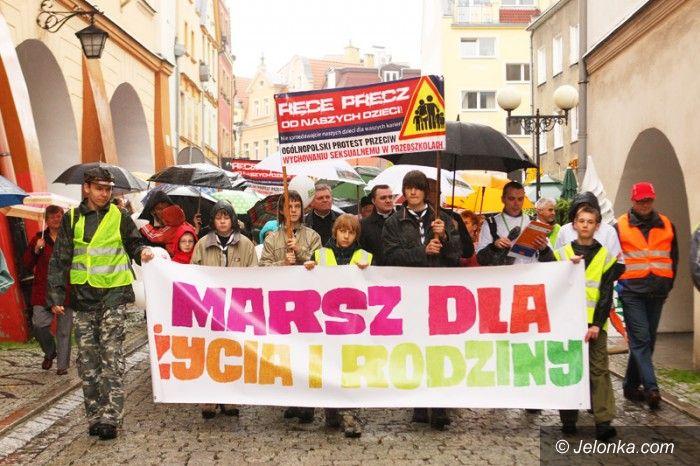Jelenia Góra: Marsz dla życia i rodziny w Jeleniej Górze