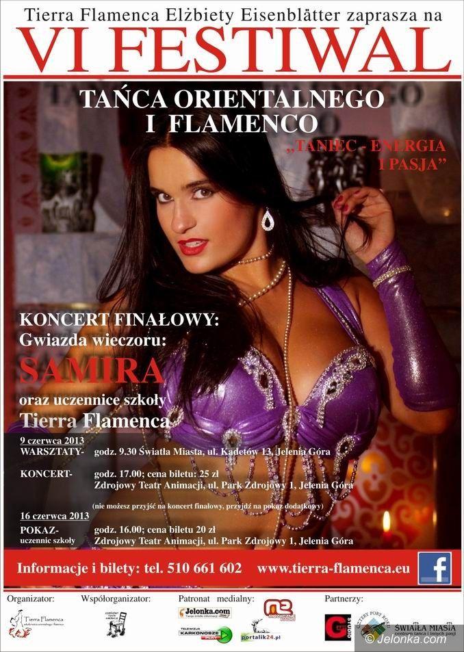 Jelenia Góra: Festiwal Tańca Orientalnego i Flamenco w niedzielę