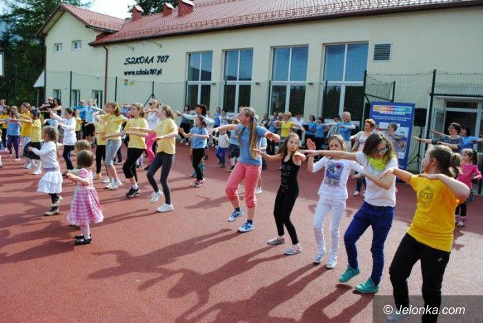 """Region: """"Żyją zdrowo i kolorowo"""" w Szkole 707"""