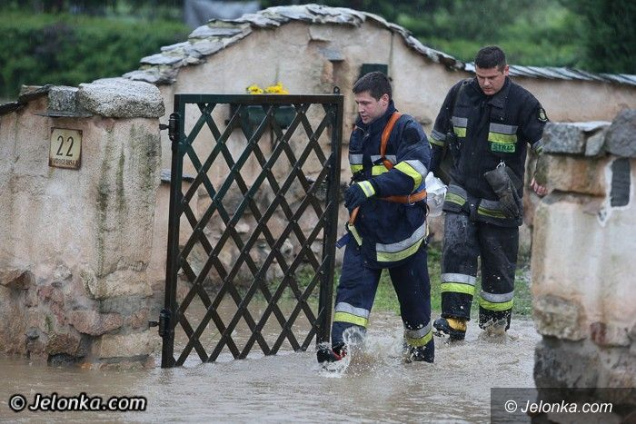 Region: Po ulewie znowu zalania, podtopienia i ludzkie dramaty