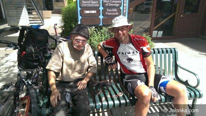 USA/Jelenia Góra: Jeleniogórzanin podbija na rowerze Ameryki (4)