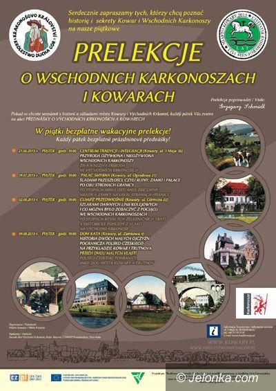 Region: O wschodnich Karkonoszach, Duchu Gór i mieście w Kowarach