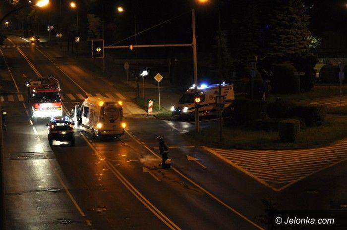 Jelenia Góra: Znów kolizja na skrzyżowaniu koło fontanny