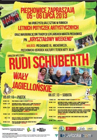 Region: Rudi Schuberth z Wałami Jagiellońskimi w Piechowicach