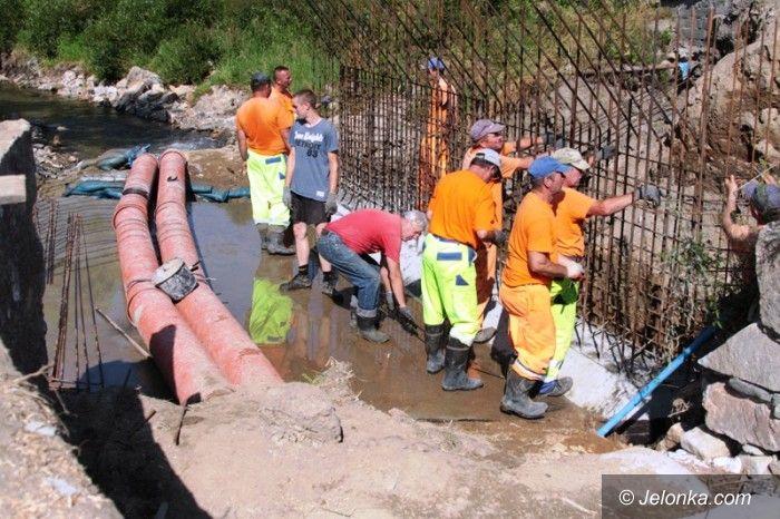 Jelenia Góra: Ruszyły prace przy moście na krajowej trójce