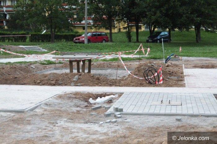 Jelenia Góra: Na Zabobrzu powstaje plac rekreacji dla dzieci i dorosłych