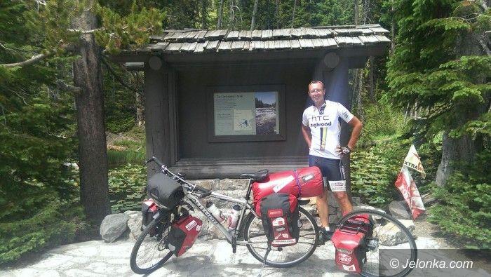 USA/Jelenia Góra: 90 dni rowerowej wyprawy Damiana po Ameryce