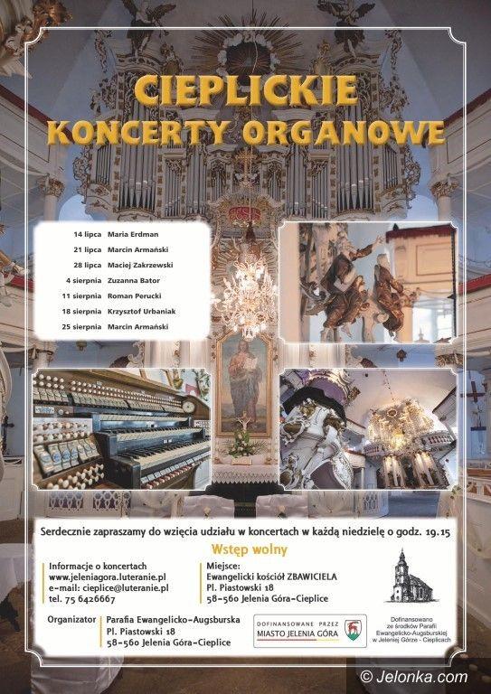 Jelenia Góra: Koncerty organowe w cieplickim kościele